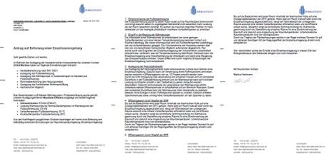 Formbrief zur Befreiung von Einzelraumregelung bei BAFA KFW EneV